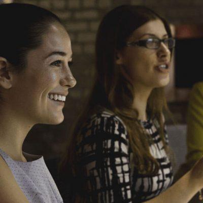 Kvinder samlet til netværksmøde